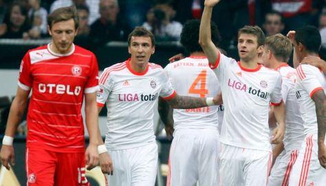 Düsseldorf - Bayern 2012